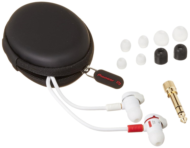 Pioneer Pro DJ DJE-1500-W Professional DJ In-Ear Headphones