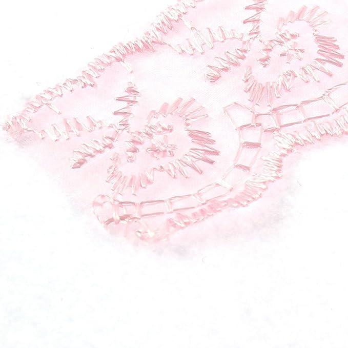 Amazon.com: eDealMax Ajuste de la Cinta Vestido de Novia de la boda Velo de Encaje 4 cm Ancho 1 M de Cuerpo entero Rosa: Home & Kitchen