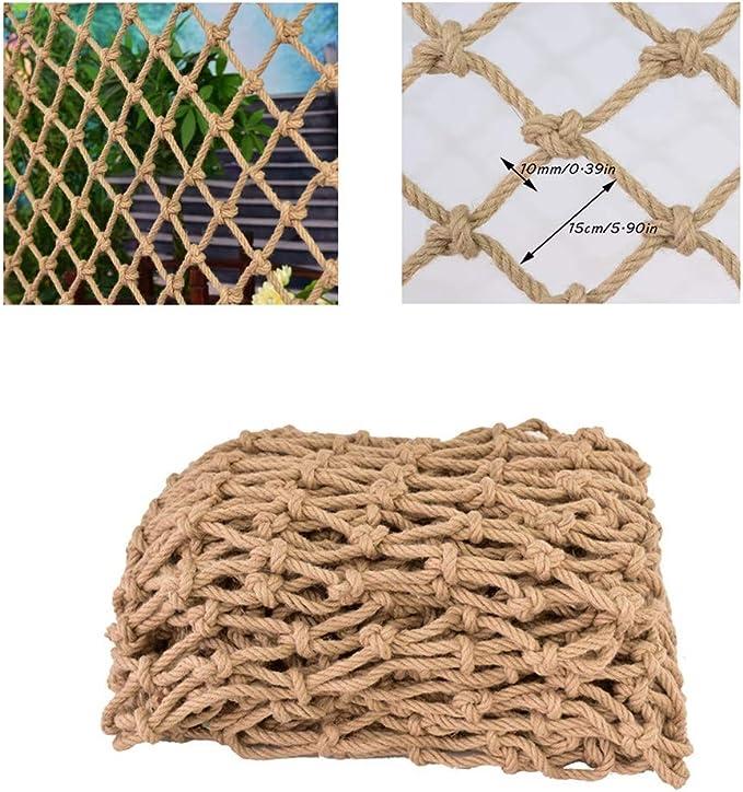 Size : 1x1M 3x3FT DENGJU White Protector Nets for Children Garden Decoration Net Truck Cargo Net Safety Netting Polyester Net Balcony Stair Railing Net for Anti-Fall Protection