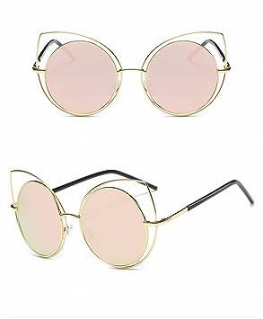 HOX Moda Gato Ojos Gafas de Sol Retro Brillante Unisex Gafas ...