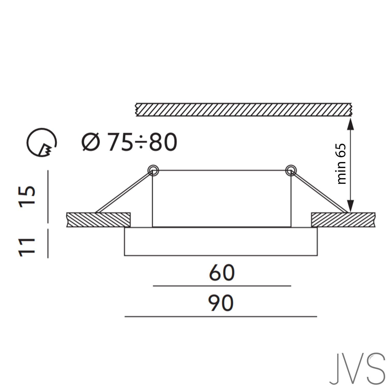 LED Einbaustrahler aus Glas Spiegel     Klar CRISTAL-S Eckig Schwenkbar Inkl. 7X 1W LED Warmweiss 230V IP20 LED Deckenstrahler Deckeneinbaustrahler Einbauspot Deckeneinbauleuchte Deckenspot Clear f36c38