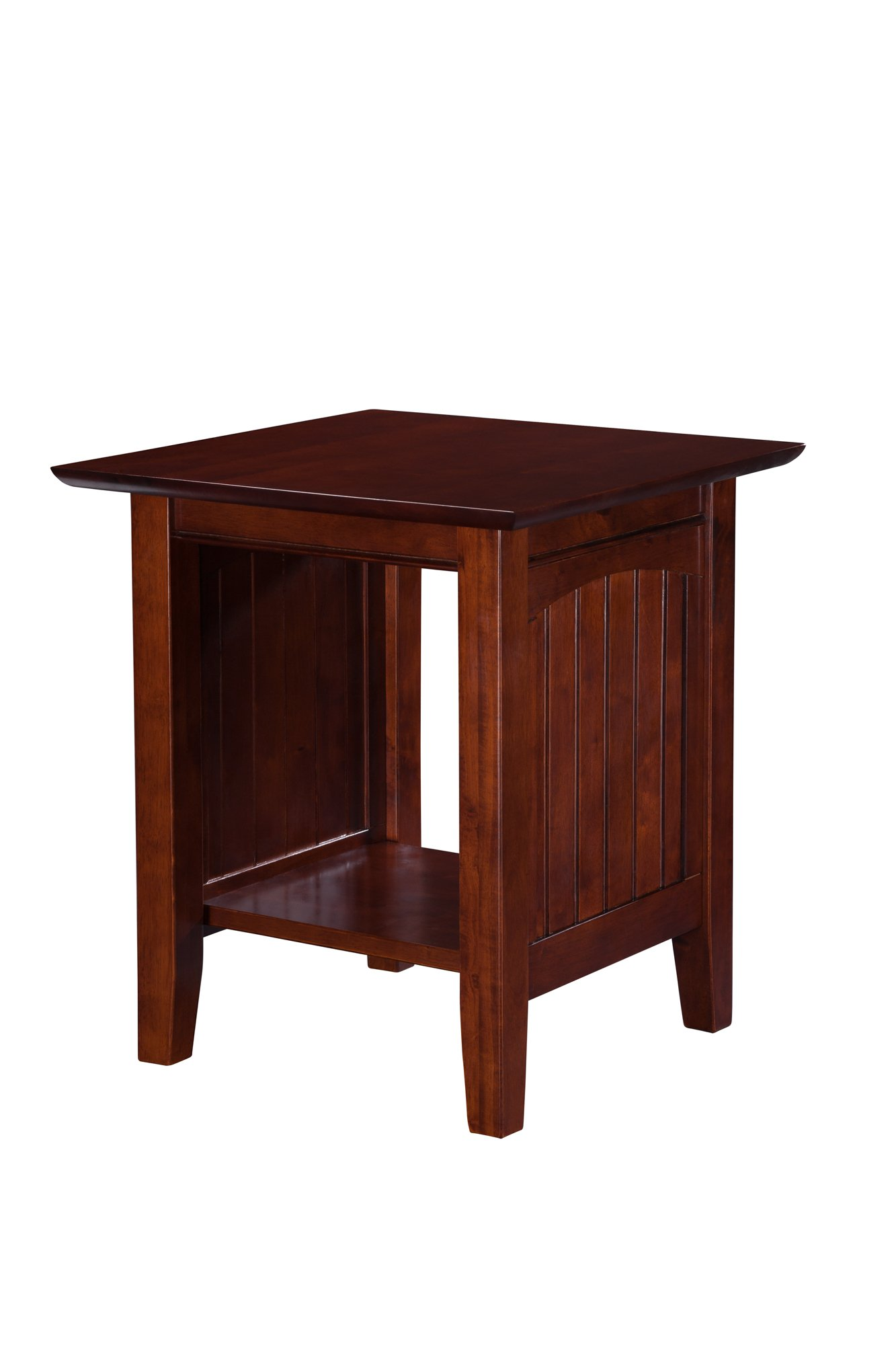 Atlantic Furniture Nantucket End Table, Walnut