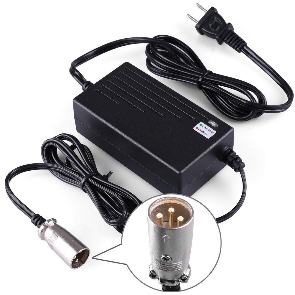 Amazon.com : LotFancy 36V 1.5A Scooter Battery Charger for Razor MX500,  MX650, GT GT750, IZIP I600, I750, I1000, Mongoose M750, X-Treme X-600,  Schwinn S600 ...