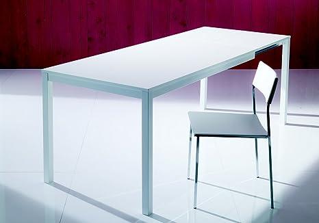 Tavolo Mago di Bontempi da cm 120 allungabile in cristallo, laminato ...