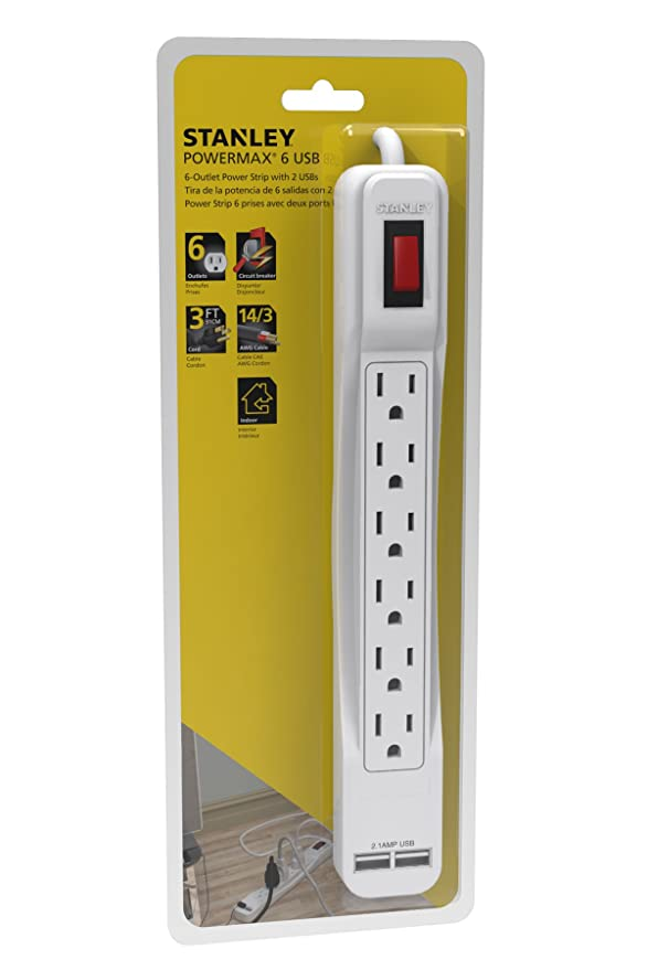 The 8 best stanley power strip with usb