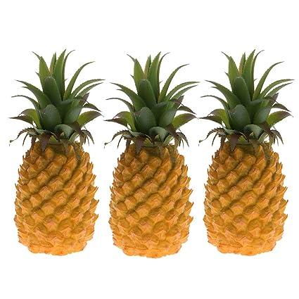 Buy Homyl 3pcs 23cm Lifelike Artificial Pineapple Decorative Fruits