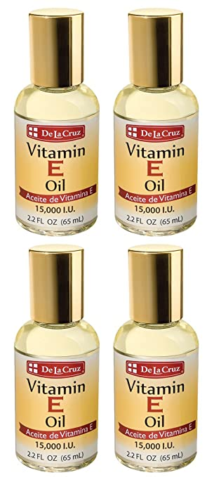 De La Cruz® Vitamin E Oil 15,000 IU 2.2 FL. OZ. - (