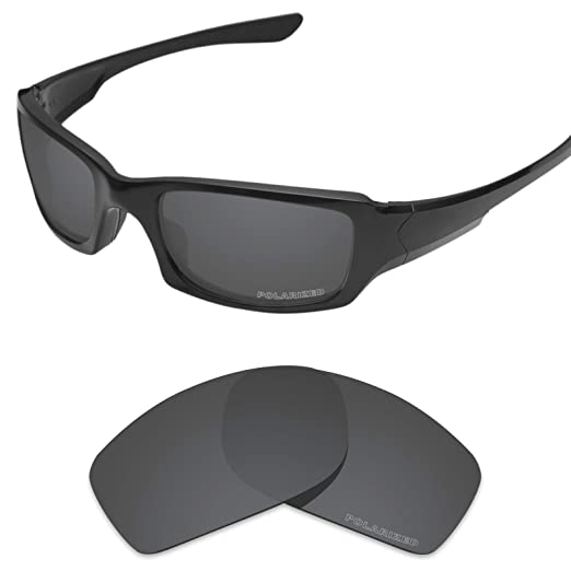 Tintart Performance Lenses Compatible with Oakley Fives Squared Polarized  Etched-Carbon Black 9a34befc3137