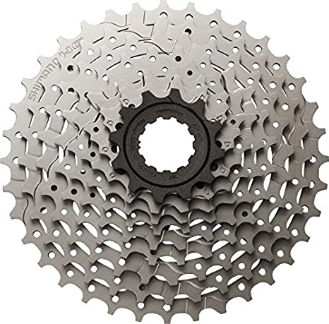 36a459c7f29 Image Unavailable. Image not available for. Color: SHIMANO HG300 Alivio  Hybrid 9 Speed Cassette - 11-34T