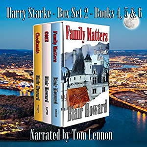 The Harry Starke Series: Books 4-6 Audiobook
