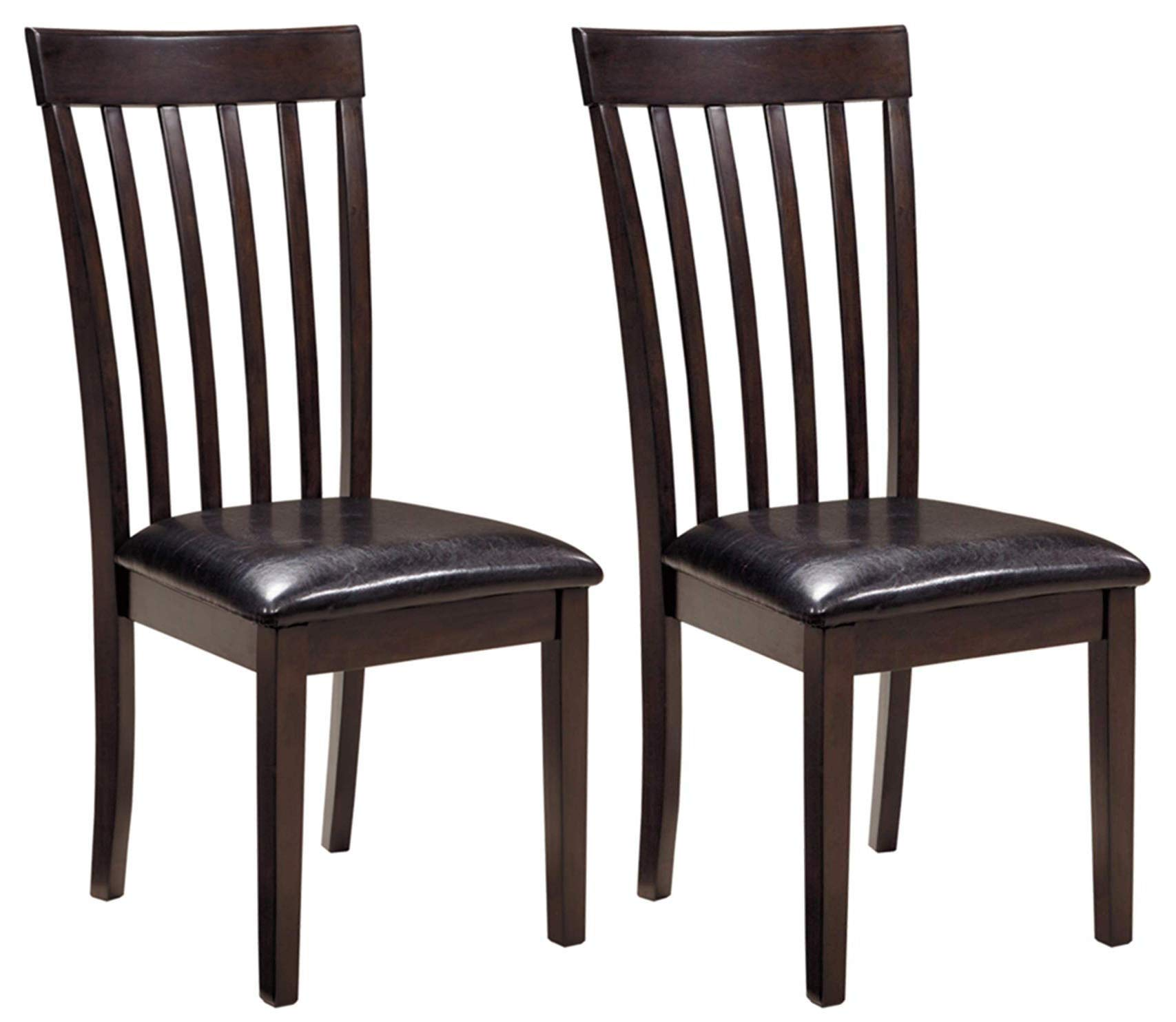 Ashley Furniture Signature Design - Hammis Dining Room Chair - Contemporary - Set of 2 - Dark Brown by Signature Design by Ashley