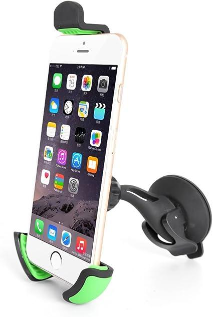 Quick media - Soporte Universal de Ventosa (qmscv) para fijación en el Parabrisas del Coche para Smartphone/móvil.: Amazon.es: Informática