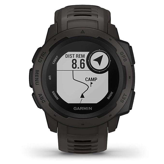Garmin Graphite Reloj con GPS, Unisex, Grafito, 1: Amazon.es ...