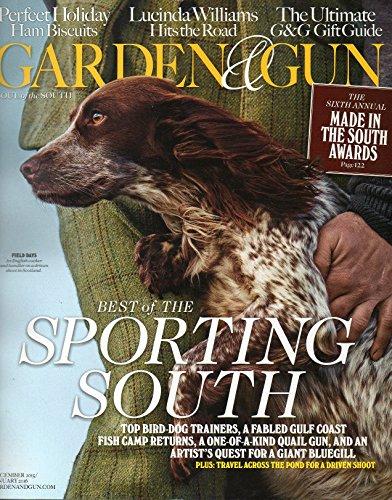 Garden and Gun Magazine (December, 2015/January, 2016)