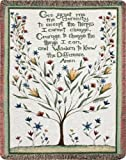 Manual Inspirational Collection 50 x 60-Inch Tapestry Throw, Serenity Prayer,