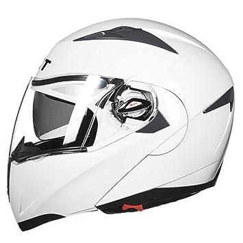 GUOHONG-CX Cascos Integrales Casco Modulares Al Aire Libre De La Bici del ABS Casco