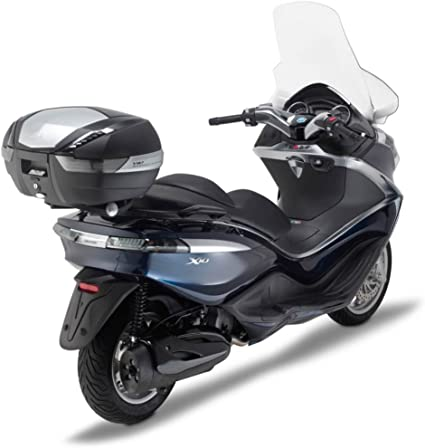 Color Negro 12 Givi SR5604 Tirante para Monokey Ba/úl con M5 Placa Carga M/áxima 10 Kg Piaggio X10 125-350-500-Bj