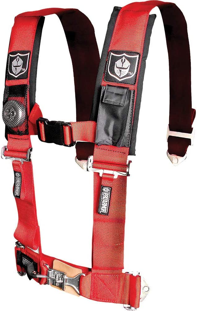 Pro Armor A114220SV Silver 4-Point Harness 2 Straps
