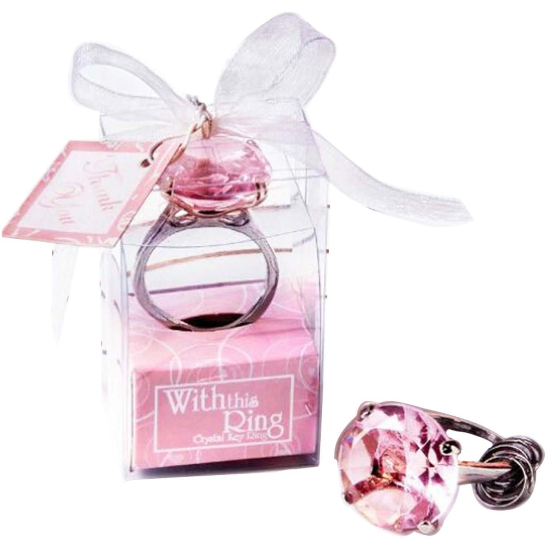 Diamond Ring Design Metal Key Chain Key Ring Keyring Lover Wedding ...