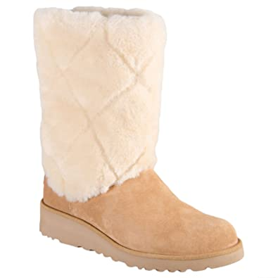 ed33ec09c82 UGG Womens Ariella Luxe Diamond Boot