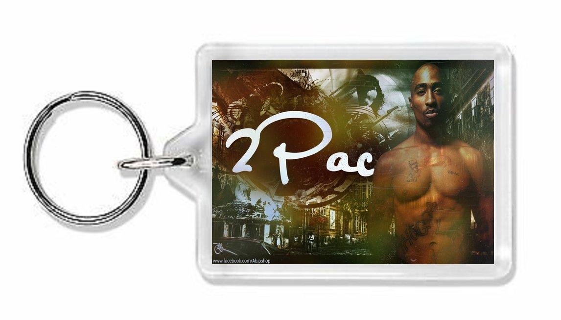Tupac  Keychain 3D Printed 2Pac