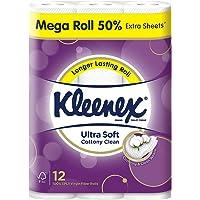 Kleenex Ultra Soft Mega Roll Bath Tissue, 12 Count