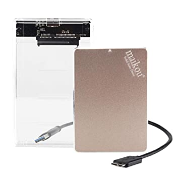 F Fityle - Disco Duro Externo SSD (1 TB, Velocidad de Lectura ...
