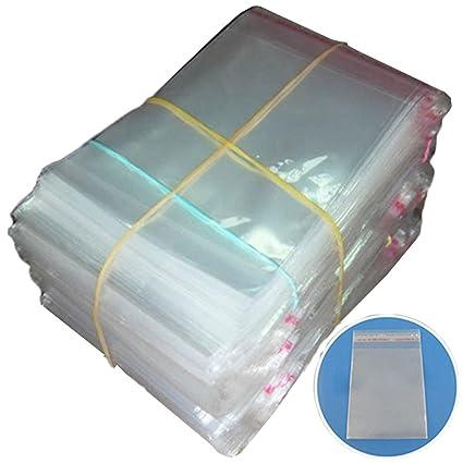 200pcs Claro Agarre Sello bolsas de plástico autoadhesivo ...