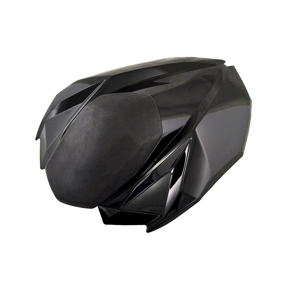 en color negro Cubierta BJ Global para el asiento trasero de motocicletas Kawasaki Z800/2012-2015 de alta calidad