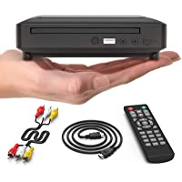 Ceihoit Mini DVD Player, DVD CD/Disc Player for TV with HDMI/AV Output, HDMI/AV Cables Included, HD 1080P Supported…