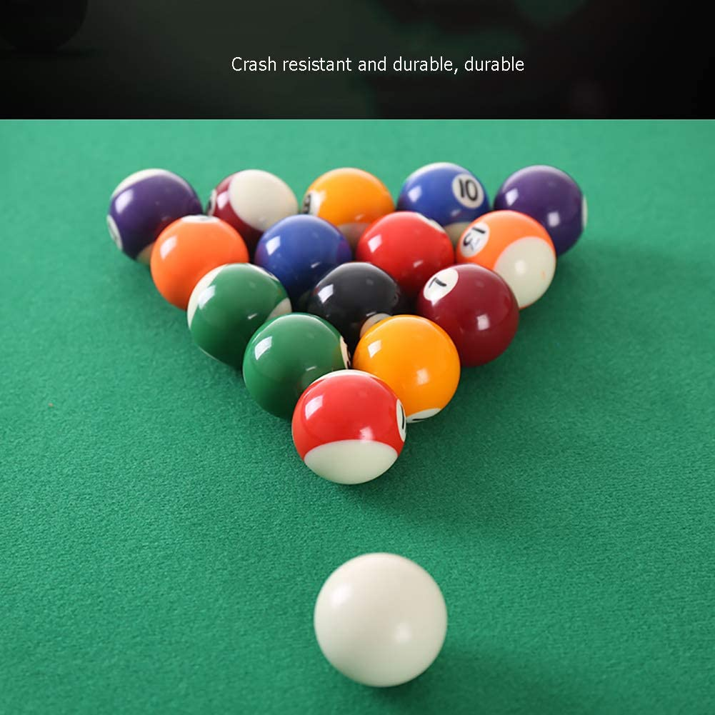 HECHEN Deluxe Mini Table Top Pool Table Billar Snooker Family Fun ...