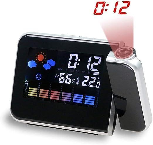 110 x 44 x 62 mm Digitaler Funk-Wecker mit Temperaturanzeige