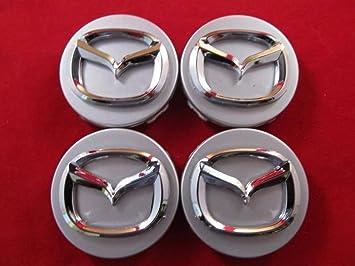 4 Nueva Mazda 3 5 6 crx-7 crx-9 Miata 626 MPV Millenia Rueda Centro Tapa Plata: Amazon.es: Coche y moto