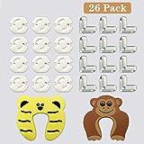 45 Pcs Kit de Seguridad para Bebés 6 Cerraduras de Seguridad Niños ...