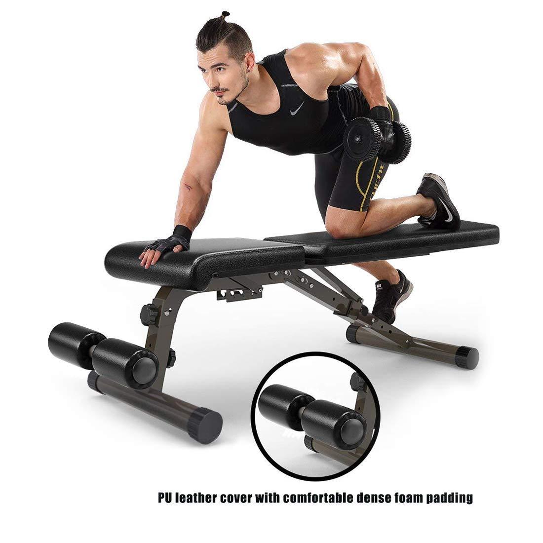 XMark sentado - Banco de pesas Curl xm-7612: Amazon.es: Deportes y aire libre