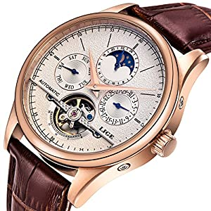 Affute Luxury Men's Automatic Self-Wind Watches