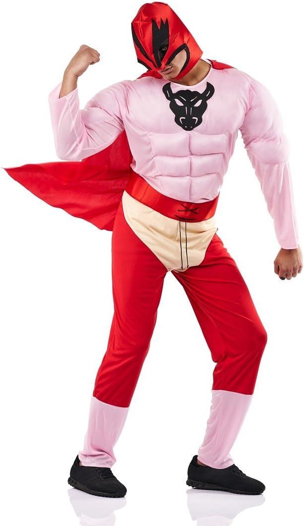 Disfraz de Súper Torete para hombre: Amazon.es: Juguetes y juegos