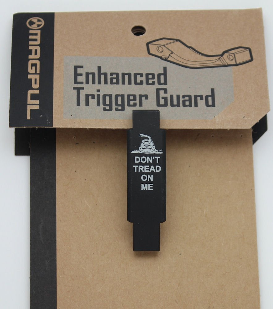 Molon Labe Engraving Laser Engraved Magpul Enhanced Trigger Guard - Gadsden - Don't Tread on Me MAG-015