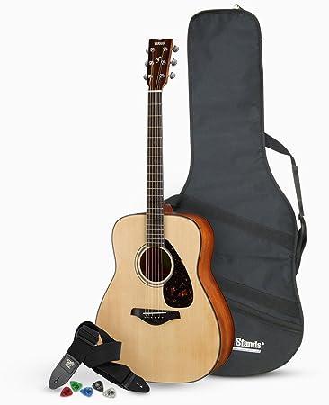 Yamaha FG820 Solid Top Folk Acoustic Guitar