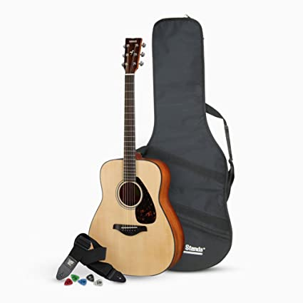 Amazon.com: Yamaha FG800 Acoustic Guitar with Accessories Bundle: Musical Instruments