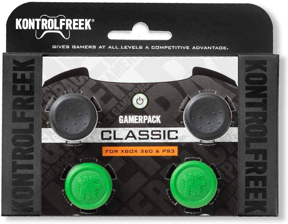 GamerPack Classic - 360/PS3 by KontrolFreek: Amazon.es: Videojuegos