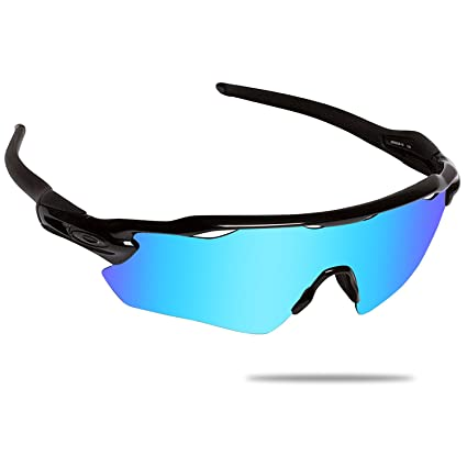 bdbf5a6b14 Amazon.com  Fiskr Anti-saltwater Polarized Replacement Lenses for Oakley  Radar EV Path 2 Pairs Pack  Clothing