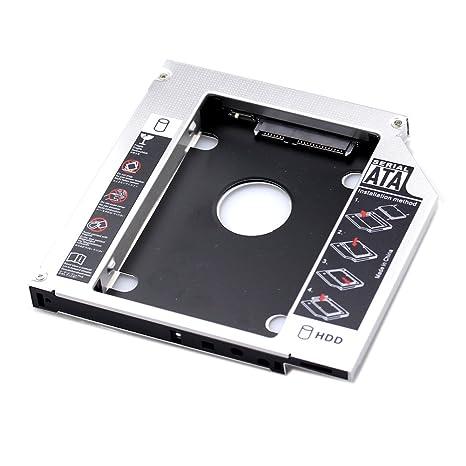 ystd® SATA 2 nd SSD HDD Disco Duro Caddy para 12,7 mm universal CD ...