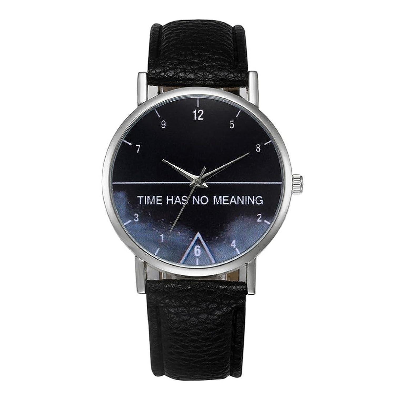 Ladies watches、Sinmaレディースシンプルエレガントな腕時計レザーバンドアナログ合金クォーツ腕時計 B071KWJ9Y8