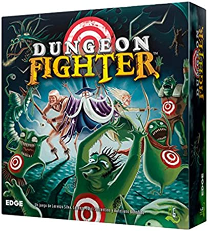 Edge Entertainment Dungeon Fighter - Juego de Mesa EDGDF01: Amazon ...