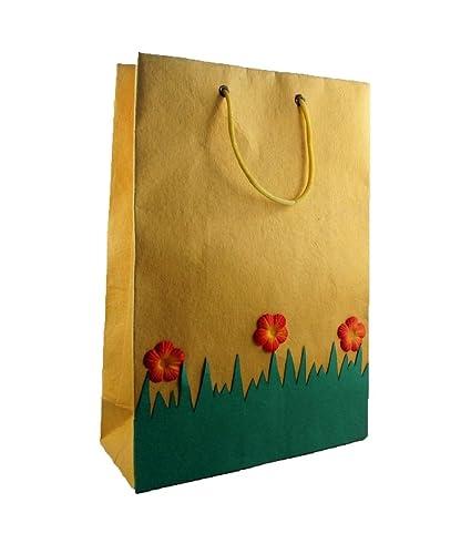 Handmade Paper Bags With Handle Kraft Shopping Bags Weddings