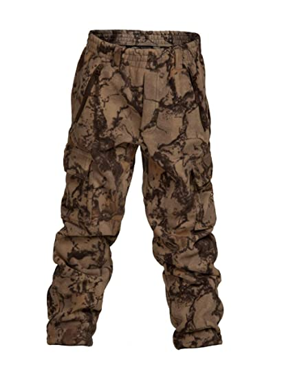 da3506890f919 Natural Gear Camo Pants for Youth, Lightweight 6-Pocket Hunting Pants, Made  with