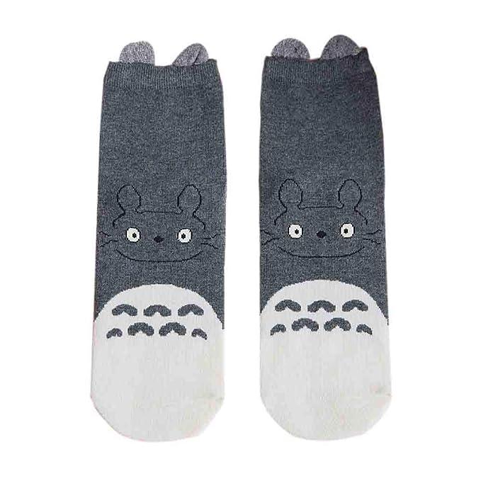 mejor selección de diseño de variedad fabricación hábil BHYDRY Moda calcetines de invierno Mujer dulce lindo gato ...