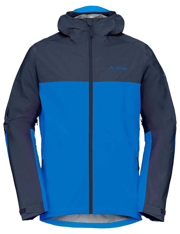 Vaude Men's 408489465700 Moab Rain Jacket, Radiate bluee, 3X-Large