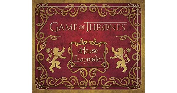 GAME OF THRONES  HOUSE LANNISTER DELUXE STATIONERY SET - Livros na Amazon  Brasil- 9781608876044 c78b004dd5914